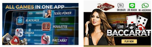 permainan live casino yang ada di sbobet
